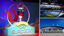 Euro 2020: Siviglia e San Pietroburgo sostituiscono Bilbao e Dublino