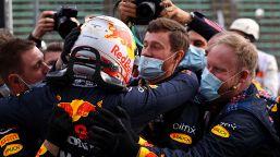 F1: a Imola vince Verstappen, le foto