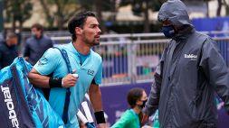 Fabio Fognini ne combina un'altra: cacciato. Le foto