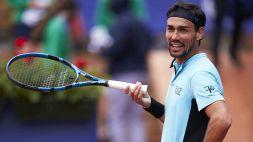 Tennis, l'ultima follia di Fabio Fognini: espulso dal torneo