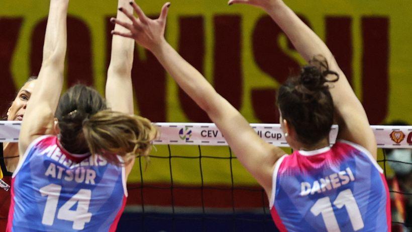 Volley femminile, Monza in semifinale: Chieri ko