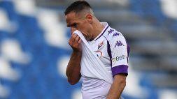 "La Fiorentina saluta ufficialmente Ribery: ""Grazie Franck"""