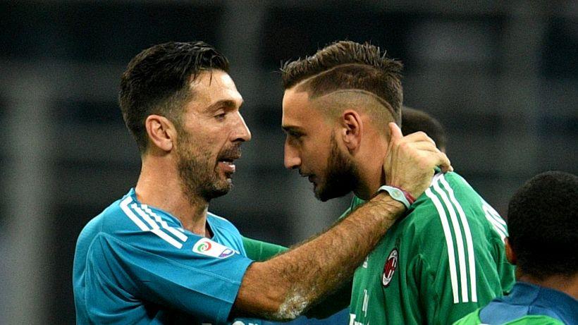 Juventus, c'è il piano per Donnarumma: e Buffon può restare in Serie A