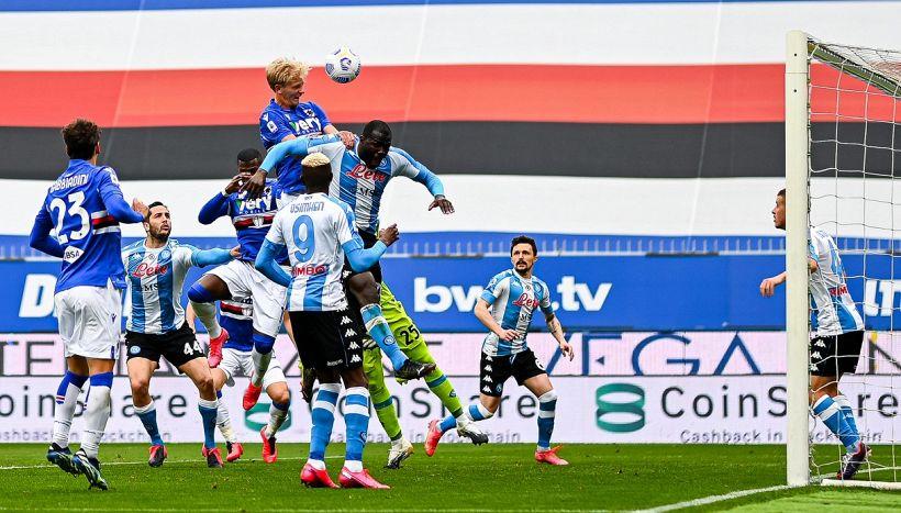 Gol annullato in Samp-Napoli e caos Var, Marelli spiega tutto