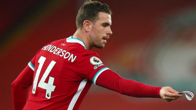 Jordan Henderson lascerà il Liverpool
