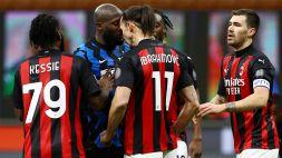 "Inter e Milan in coro: ""In beneficenza multe di Ibrahimovic e Lukaku"""