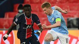 PSG-Manchester City 1-2: Marquinhos illude, De Bruyne e Mahrez rimontano. Le pagelle
