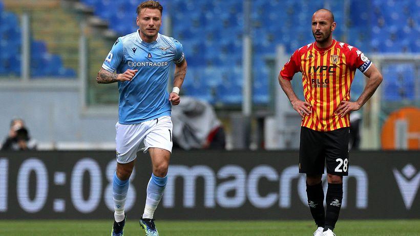 Lazio-Benevento 5-3: Immobile protagonista, le pagelle