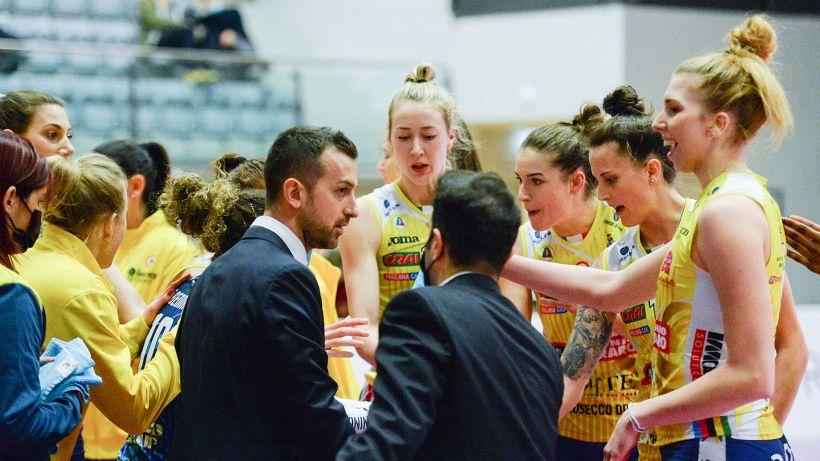 Volley, semifinali scudetto: l'Imoco e Novara vincono gara 1