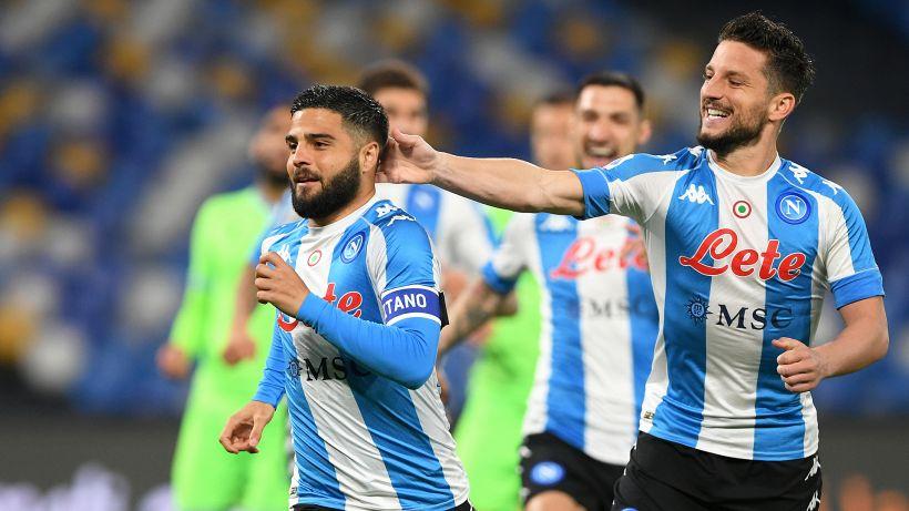Napoli stellare, Insigne mattatore: 5-2 alla Lazio