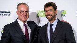 L'ECA vota Rummenigge: nell'esecutivo UEFA al posto di Agnelli