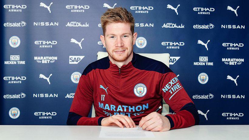 Manchester City: contratto fino al 2025 per De Bruyne