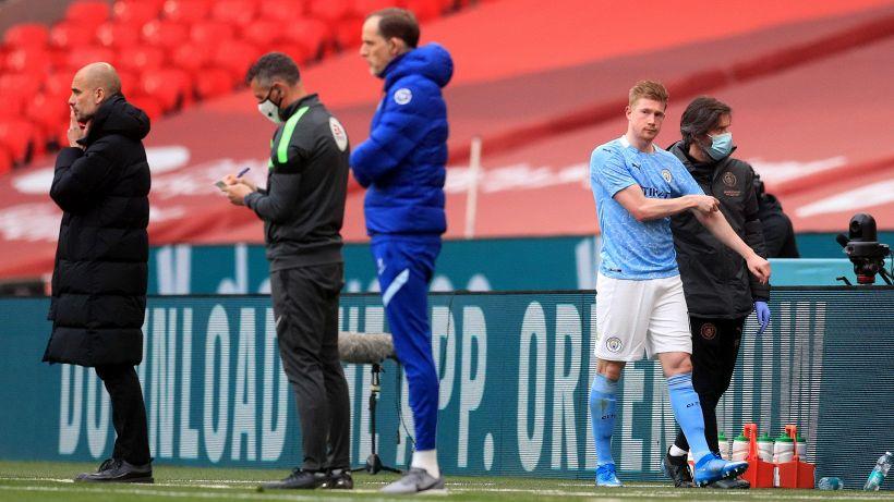 Il Manchester City esce dalla FA Cup e perde De Bruyne