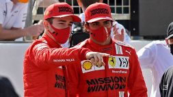F1, Ferrari: Carlos Sainz manda un chiaro messaggio a Leclerc