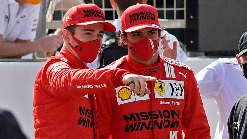 Fórmula 1, Ferrari: Carlos Sainz envia uma mensagem clara a Leclerc
