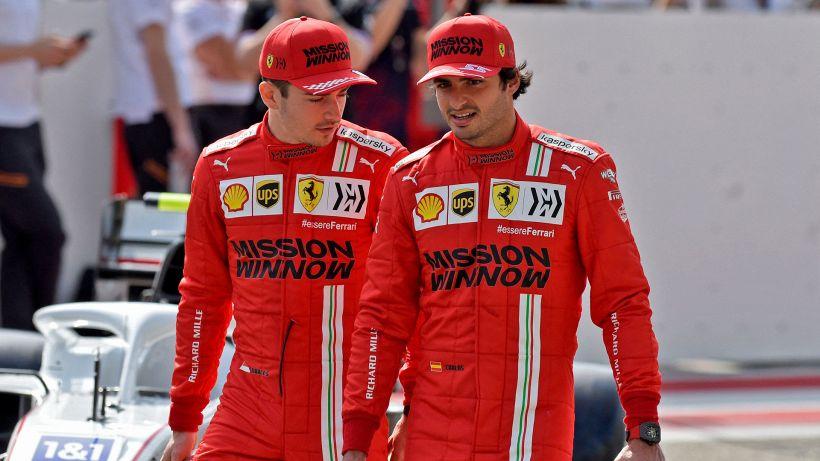 F1, Ferrari: l'emozione di Sainz in vista del Gp dell'Emilia Romagna