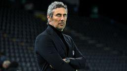 """Udinese, Luca Gotti: """"Non riguardo l'episodio da rigore, non ne parlo"""""""