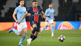 City-PSG, Mbappé a rischio: problema al polpaccio