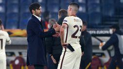 Roma in semifinale: Mancini in lacrime al triplice fischio