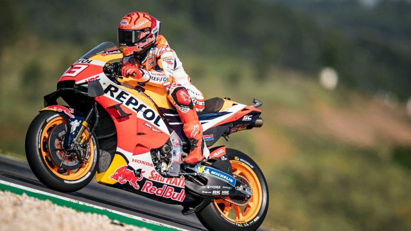 """MotoGp, tutta la gioia di Marquez: """"Felicità!"""""""