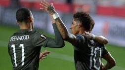 Europa League: vince il Manchester United, pari Arsenal