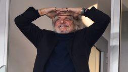 Sampdoria, il patron Ferrero torna a protestare sulla capienza stadi