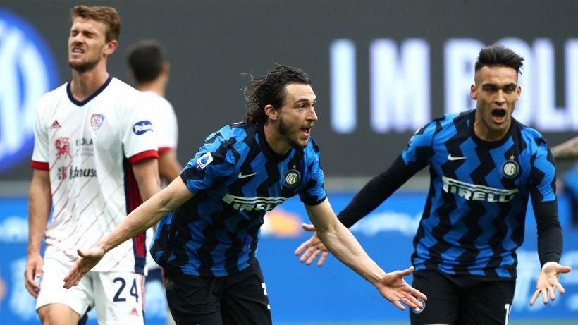 Inter-Cagliari, altro passo di Conte verso il titolo. Le pagelle