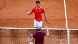 Monte-Carlo Masters: le foto della sfida tra Sinner e Djokovic