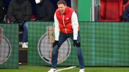 """Lipsia, Nagelsmann: """"Lascio qualcosa di speciale per me, sono entusiasta di allenare il Bayern"""""""