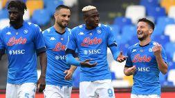 Napoli-Crotone 4-3: emozioni e goal, la spuntano gli azzurri
