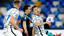 Serie A: Napoli-Inter 1-1, le foto