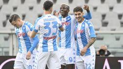 Serie A, il Napoli supera in classifica la Juventus: 2-0 firmato Bakayoko-Osimhen
