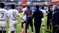 Psg a rotoli, Neymar si fa espellere