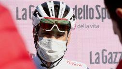 Ciclismo: intervento ok per Vincenzo Nibali