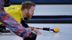 Mondiali di curling maschili, la Svezia balza in testa. Italia quasi fuori