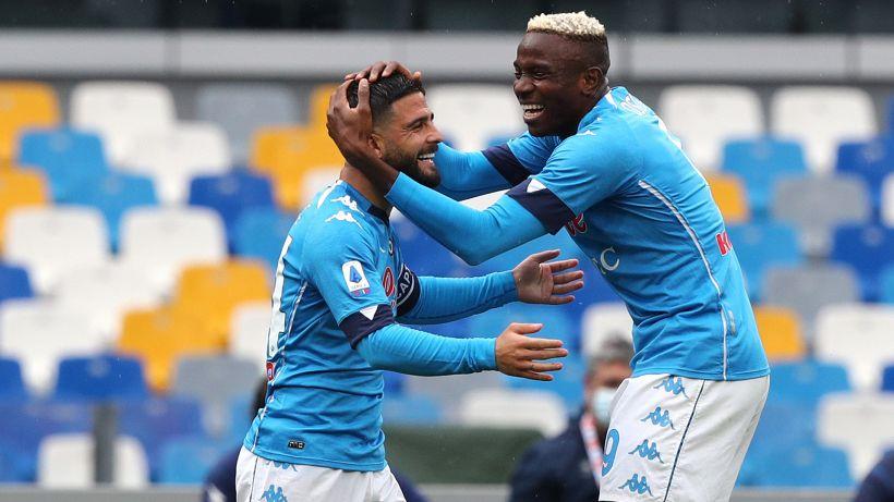 Napoli, maglia speciale contro l'Inter: linea firmata Marcelo Burlon
