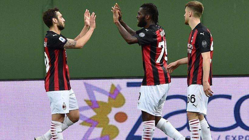 Zlatan Ibrahimovic espulso ma il Milan vince ugualmente a Parma
