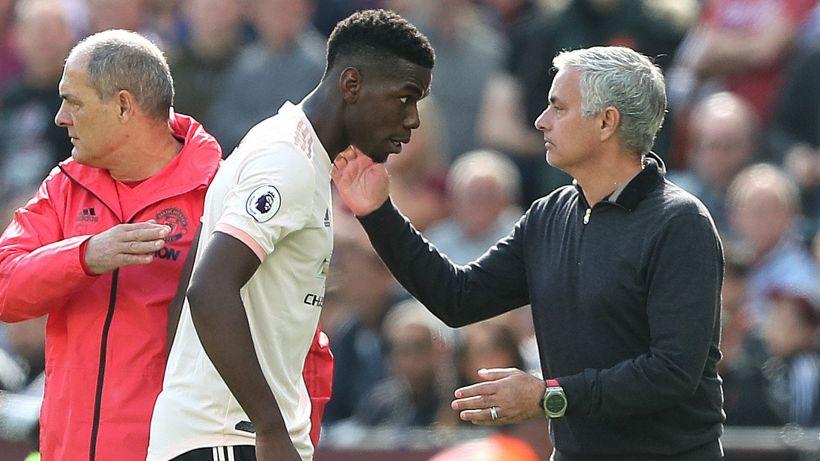 Premier League, Paul Pogba lancia una bordata a José Mourinho