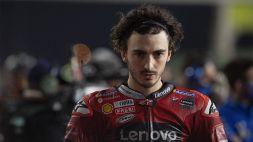 Moto GP, 2° libere: Grande Bagnaia, Marquez coraggioso; malissimo Rossi