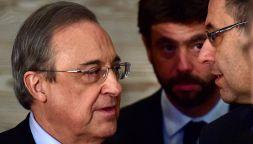 Super Lega, rischi per Real, Juve e Barcellona: la decisione Uefa