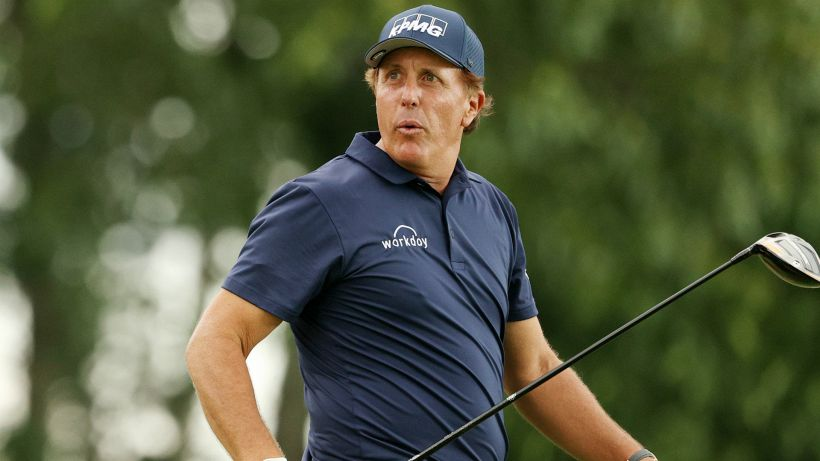 Golf: Phil Mickelson vuole tornare protagonista