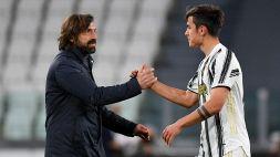 Juventus: Andrea Pirlo si sbilancia sul futuro di Paulo Dybala