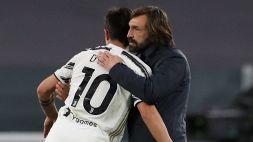 Juventus, annuncio di Andrea Pirlo su Paulo Dybala