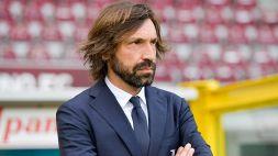 Juventus, Andrea Pirlo snobba i successori e difende il figlio