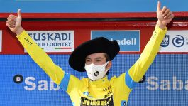 Giro dei Paesi Baschi, trionfo finale di Roglic