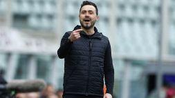 Serie A, Sassuolo-Fiorentina: l'onestà di Roberto De Zerbi