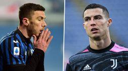 """Il racconto di Gosens: """"Chiesi la maglia a Ronaldo, mi disse no"""""""
