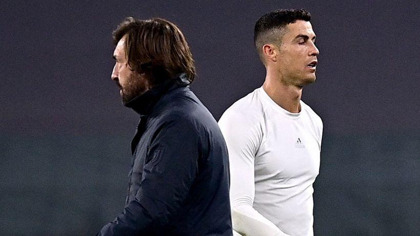 Juventus: Andrea Pirlo dice la sua sull'errore di Cristiano Ronaldo