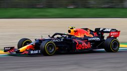 Red Bull, Perez spiega l'incidente con Ocon