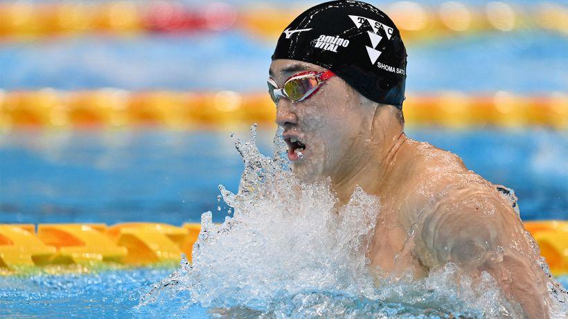 Nuoto, Trials Giappone: nuovo record del mondo 200 rana per Shoma Sato